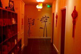 Velvet Spa Hallway